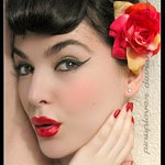 Pin-up Girl Makeup Look